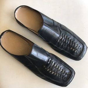 cesare paciotti leather mule Sz 10.5